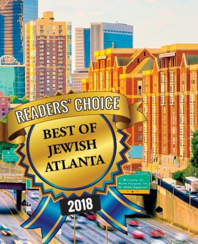 Atlanta Jewish Times – Best Salon – May 2018