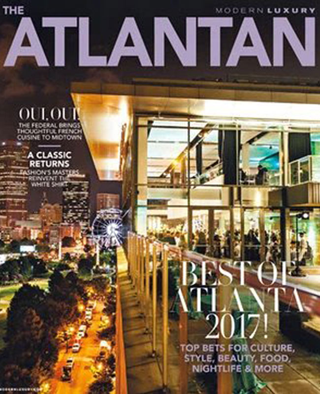 The Atlantan – Reader's Choice Best Stylist: Ginger Rowland – January 2017