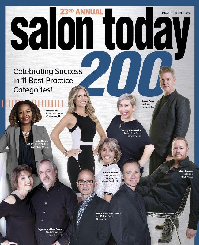 Salon Today 200 Winner – January 2020